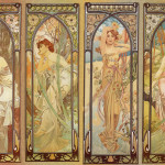 Painterlog Mucha Alphonse Czech Art Nouveau Painter
