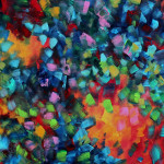 Painting Abstract Art Bold Colorful Modern Original