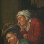 Painting Adriaen Van Ostade David Teniers Dutch Genre Willem