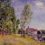Painting Alfred Sisley Paintings For Sale Oil