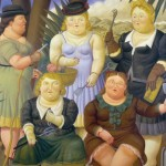 Painting Fernando Botero Art People