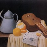 Painting Fernando Botero Still Life Journal