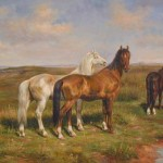 Painting For Sale Horses Genuine Hand Painted Other Oil