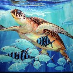 Painting From Guy Harvey Art Gallery Grand Cayman Island