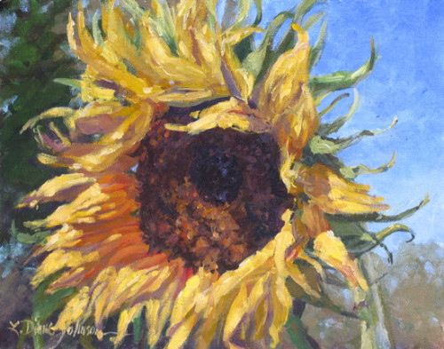 Painting Good Mornin Sunflowers