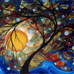 Painting Megan Duncanson Abstract Original Landscape Art
