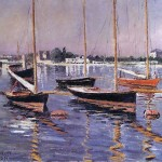 Painting Name Boats The Seine Argenteuil