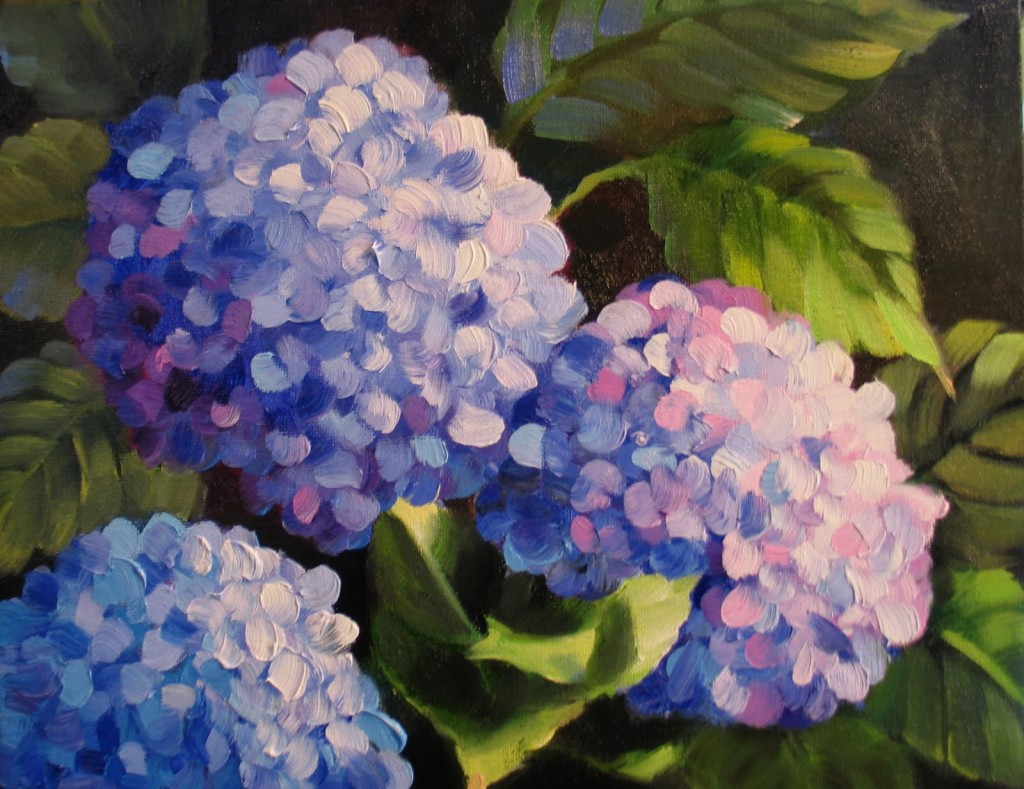 Painting Prompts And Critiques Mini Lesson Hydrangea