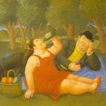 Painting Reproduction This Artist Fernando Botero Title