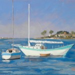 Painting Some Days Augustine Sailboats Oil