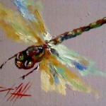 Painting The Day Dragonfly