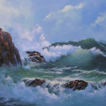 Painting The Timeless Sea Seascape Ocean Coastal Paintings