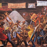 Painting Titled Sugar Shack Was Created African American Artist