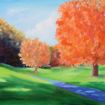 Painting Todd Bandy Golf Course The Fall Fine Art Prints And