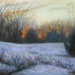 Painting Winter Twilight Enriching Your Life Art