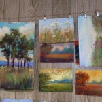 Painting World Great Way Store Finished Pastel Paintings