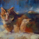 Painting World Orange Tabby Cat