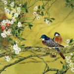 Paintings Chinese Gongbi Flower And Bird Painting