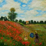 Paintings Claude Monet Shopping Painting
