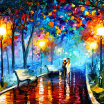 Paintings Colorful Leonid