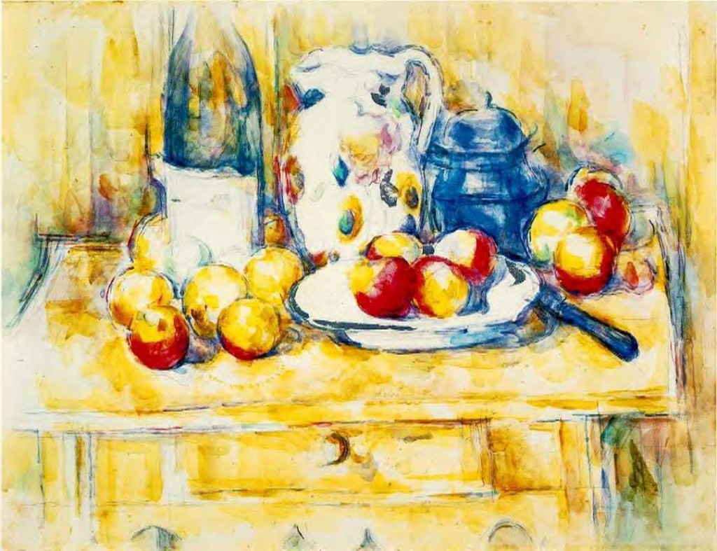 Paintings Galleries Paul Cezanne Painting Overlapping Planes