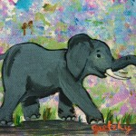 Paintings Gretzky Elephant Fine Art Prints And Posters For Sale