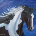 Paintings Horses Painting Paint Horse Theresa Paden