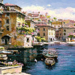 Paintings Italian And Mediterranean Themes Oil Frames