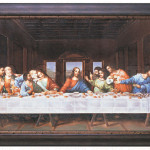 Paintings Last Supper Painting Coa