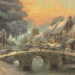 Paintings Nature Winter Snow