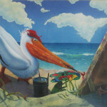 Paintings Originals For Sale Painting Pelican Artsyhome
