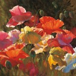 Paintings Poppies Sunshine Leon Roulette Painting
