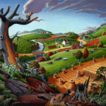 Paintings Rural Americana For Web Search