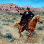 Paintings Western And Art The West Original Oil