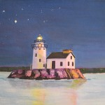 Paintings Woodling North Coast Lighthouses