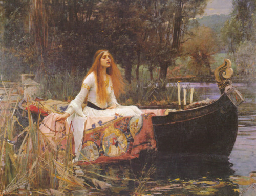 Paintings Www Jwwaterhouse Com This Painting Called The Lady