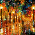 Palette Knife Painting Modern Impressionism