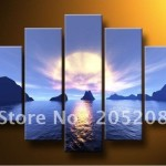 Panels Handmade High End Large Wall Art Canvas Oil Painting