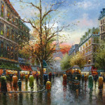 Paris Paintings Hand Painted Oil Fineartdelivered