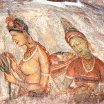 Passing Ancient Paintings Along The Way