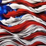 Patriotic Art Miami Based Erni Vales