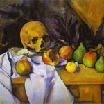 Paul Cezanne Still Life Skull Painting Anysize Off