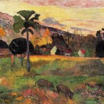 Paul Gauguin Paintings Come Here Painting