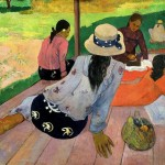 Paul Gauguin The Siesta