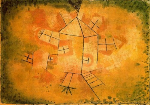 Paul Klee Casa Giratoria Allpaintings Art Portal