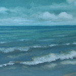 Paul Tiberio Ocean Oil Painting