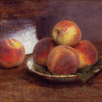 Peaches Famous Still Life Oil Painting Reproduction