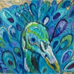 Peacock Painting Paintings Gretzky Fine Art Prints And