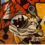 Pears And Grapes Table Juan Gris Wikipaintings