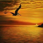 Pelican Painting Janna Ali Zakovenko Fine Art Prints And